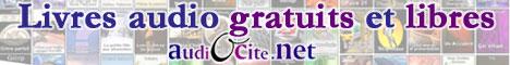Audiocité, livres audio gratuits