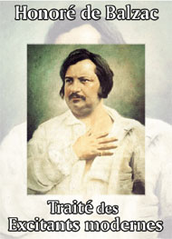 Illustration: Trait� des excitants modernes - honor� de balzac