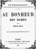 Emile Zola: Au bonheur des dames