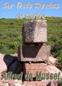 Alfred de Musset : sur trois marches de marbre