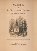 henry david thoreau: Walden, ou la vie dans les bois