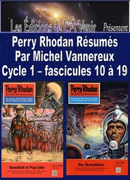 Illustration: Perry Rhodan Résumés-Cycle 1-10 à 19 - Michel Vannereux