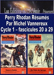 Illustration: Perry Rhodan Résumés-Cycle 1-20 à 29 - Michel Vannereux
