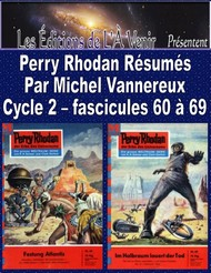 Illustration: Perry Rhodan Résumés-Cycle 2-60 à 69 - Michel Vannereux