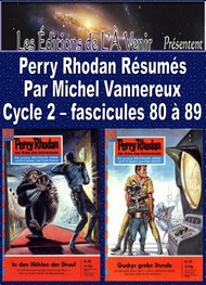 Illustration: Perry Rhodan Résumés-Cycle 2-80 à 89 - Michel Vannereux