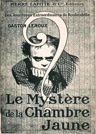 Illustration: Le mystère de la chambre jaune-version 2 - Gaston Leroux