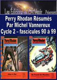 Illustration: Perry Rhodan Résumés-Cycle 2-90 à 99 - Michel Vannereux