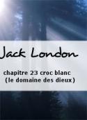 Jack London: chapitre 23 croc blanc (le domaine des dieux)