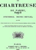 Stendhal: La Chartreuse de Parme Partie 2