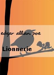 edgar allan poe - Lionnerie