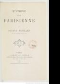 Octave Feuillet: Histoire d'une parisienne
