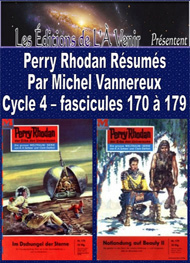 Illustration: Perry Rhodan Résumés-Cycle 4-170 à 179 - Michel Vannereux