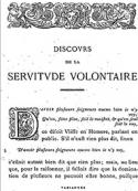étienne De la boétie: Discours de la servitude volontaire