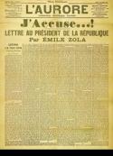 Emile Zola: J'accuse... !