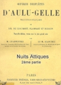 Aulu gelle: nuits attiques (tome 2)