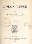 Henry Gréville: Un violon russe