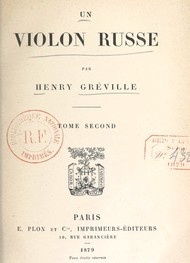 Illustration: Un violon russe - Henry Gréville