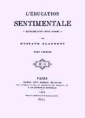 Gustave Flaubert: L'Education sentimentale (version 2)