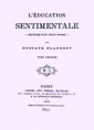 Gustave Flaubert: L'Education sentimentale (version 2)
