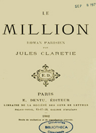 Jules Claretie - Le Million