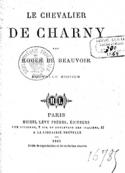 Roger de Beauvoir : Le Chevalier de Charny