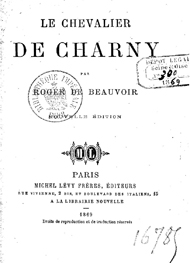 Illustration: Le Chevalier de Charny - Roger de Beauvoir