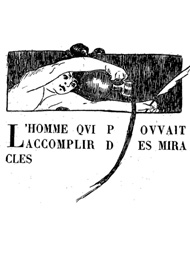 Illustration: L'Homme qui pouvait accomplir des miracles -  herbert george  Wells