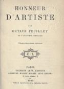 Octave Feuillet: Honneur d'artiste