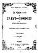 : Le Chevalier de Saint-Georges (Tome 1)