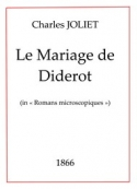 Charles Joliet: Le Mariage de Diderot