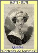 Charles  augustin Sainte  beuve: Portraits de Femmes _ Quatre portraits