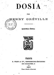 Illustration: Dosia - Henry Gréville