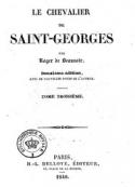 : Le Chevalier de Saint-Georges (Tome 3)