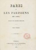 Frances Trollope: Paris et les Parisiens en 1835 (Tome 1)