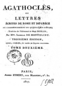 Caroline Pichler: Agathoclès (Tome 2)