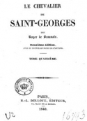 : Le Chevalier De Saint-Georges (Tome 4)