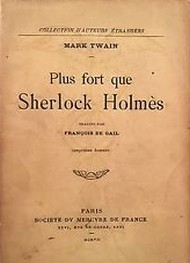 Illustration: Plus Fort Que Sherlock Holmes - Mark Twain