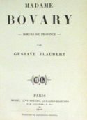 Gustave Flaubert : madame bovary (version 2)