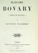 Gustave Flaubert : madame bovary (II et III)  (version 2)