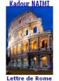 Lettre de Rome d'un EC