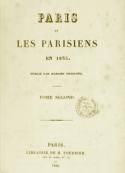 Frances Trollope: Paris et les Parisiens en 1835 (Tome 2 )