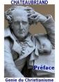 Génie du Christianisme, Préface