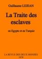 La Traite des esclaves en Egypte et en Turquie
