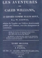 William Godwin:  Les Aventures de Caleb Williams (Tome 2)