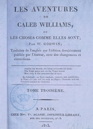 Illustration: Les Aventures de Caleb Williams (Tome 03) - William Godwin