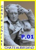 François rené (de) Chateaubriand: Génie du Christianisme, Suite, Partie 01.