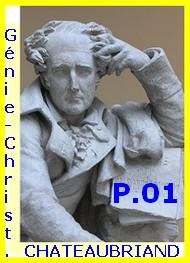 François rené (de) Chateaubriand - Génie du Christianisme, Suite, Partie 01.
