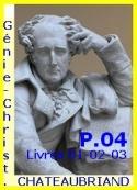 François rené (de) Chateaubriand: Génie du Christianisme, Suite, Partie 04, Livres 01-02-03