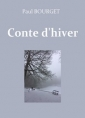 Paul Bourget: Conte d'hiver
