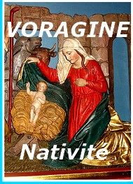 Illustration: La Nativité, 25 décembre - Jacques de Voragine